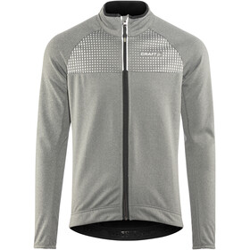 Craft Rime Jacket Men dk grey melange/silver